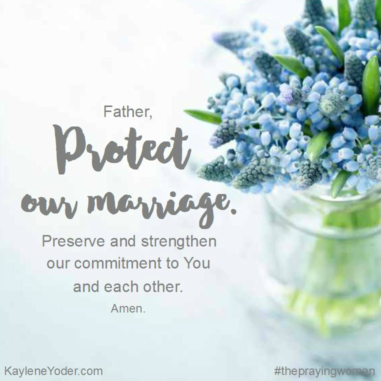 Protect our marriage