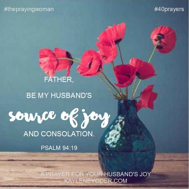 prayer for joy