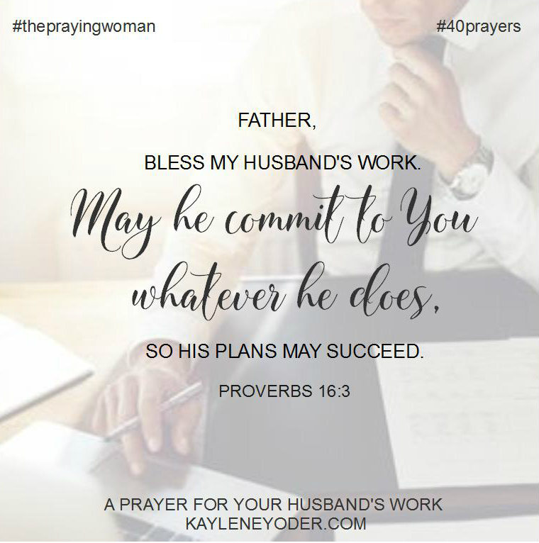 prayer for work