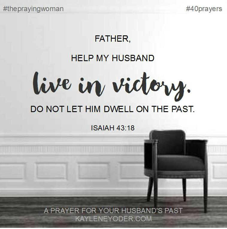 prayer for past