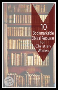 Bookmarkable Biblical Resources