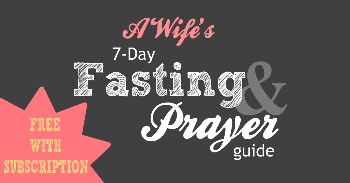 fASTING AND PRAYER GUIDE FB
