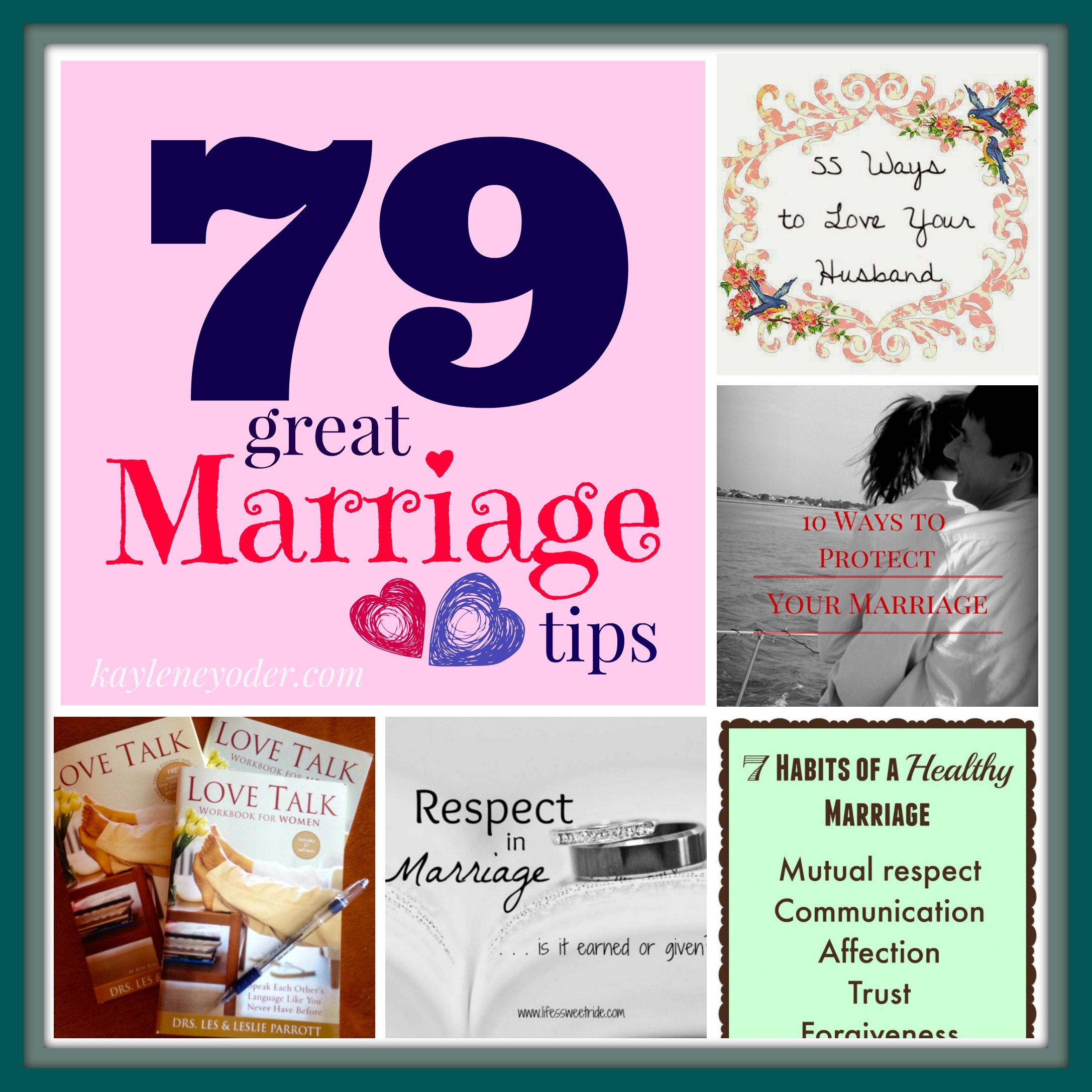 79 Marriage Tips