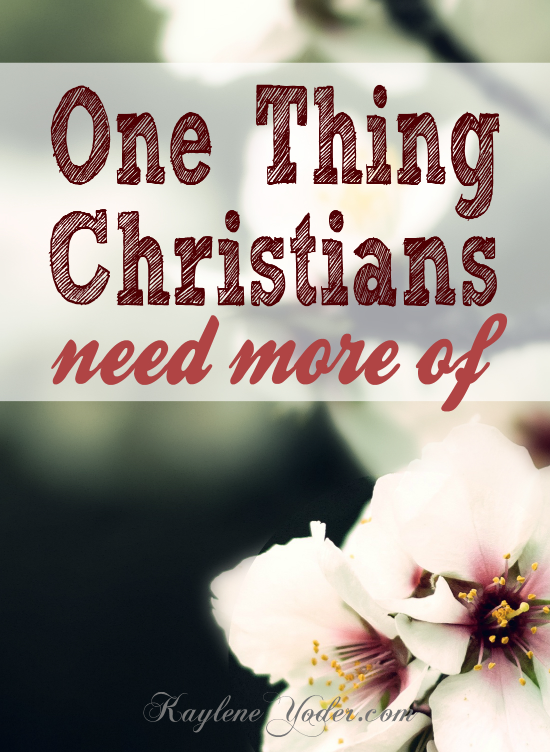 One thing Christians need more of is to grow in godliness. Here are three ways you can be intentional about how you grow to become more like Jesus.