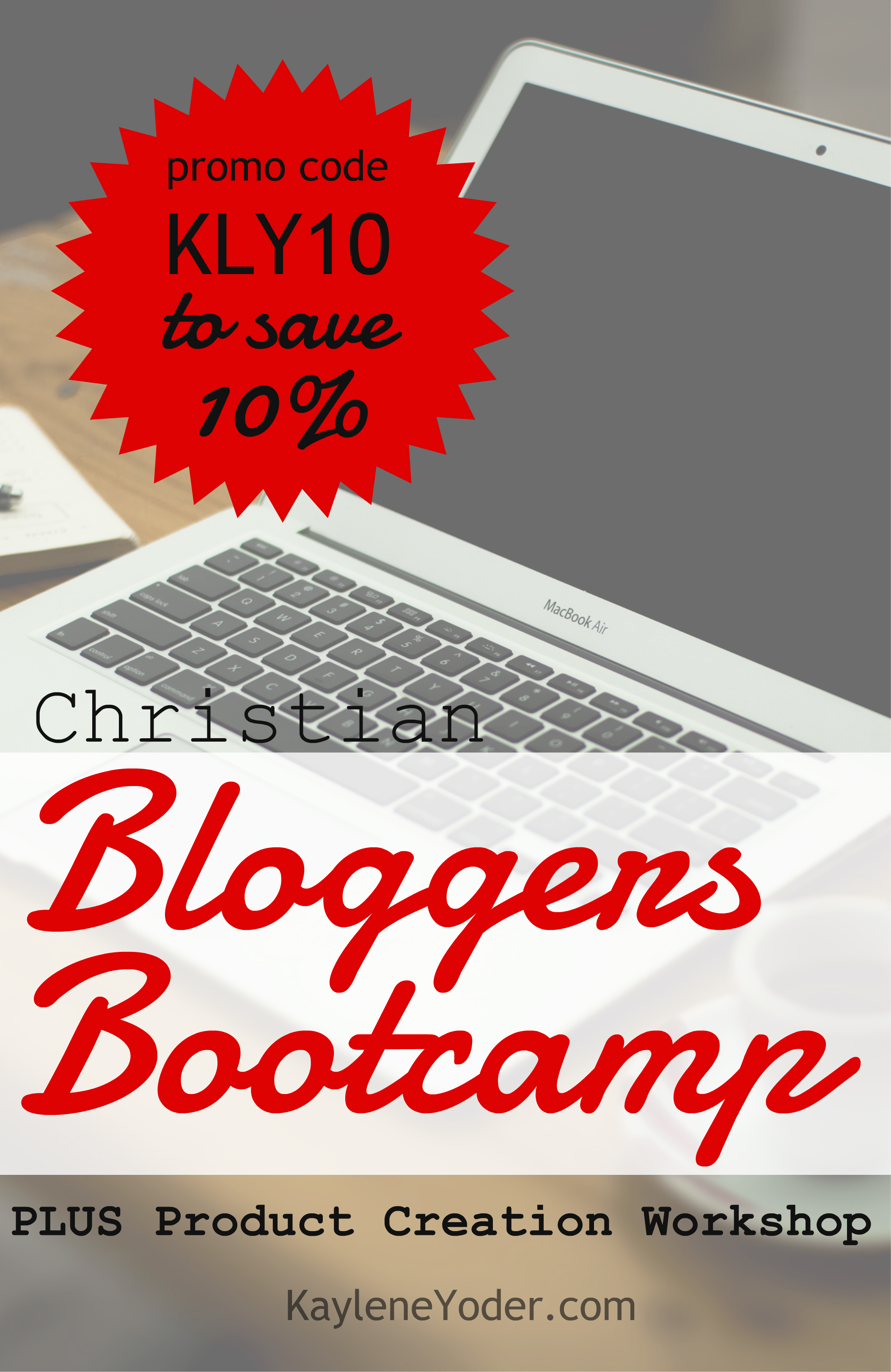 Sometimes you just need to go through a good bootcamp to get blogging figured out! Christian Bloggers Bootcamp sets the ground work for massive growth, Plus there is an all new Product Creation Workshop!