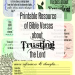 Verses about trusting God title image