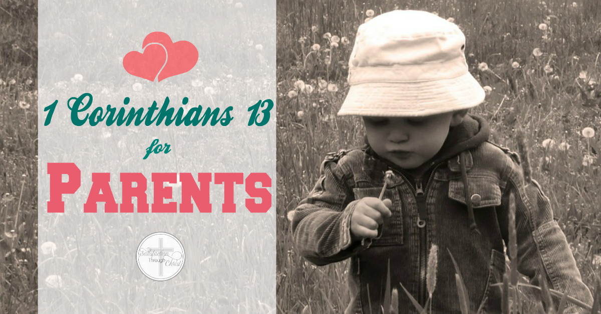 1 Corinthians 13 for Parents fb