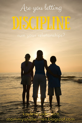 Don't let discipline ruin your relationship with your child. Show them what it looks like to have a balance of love and grace when the need for discipline arises.