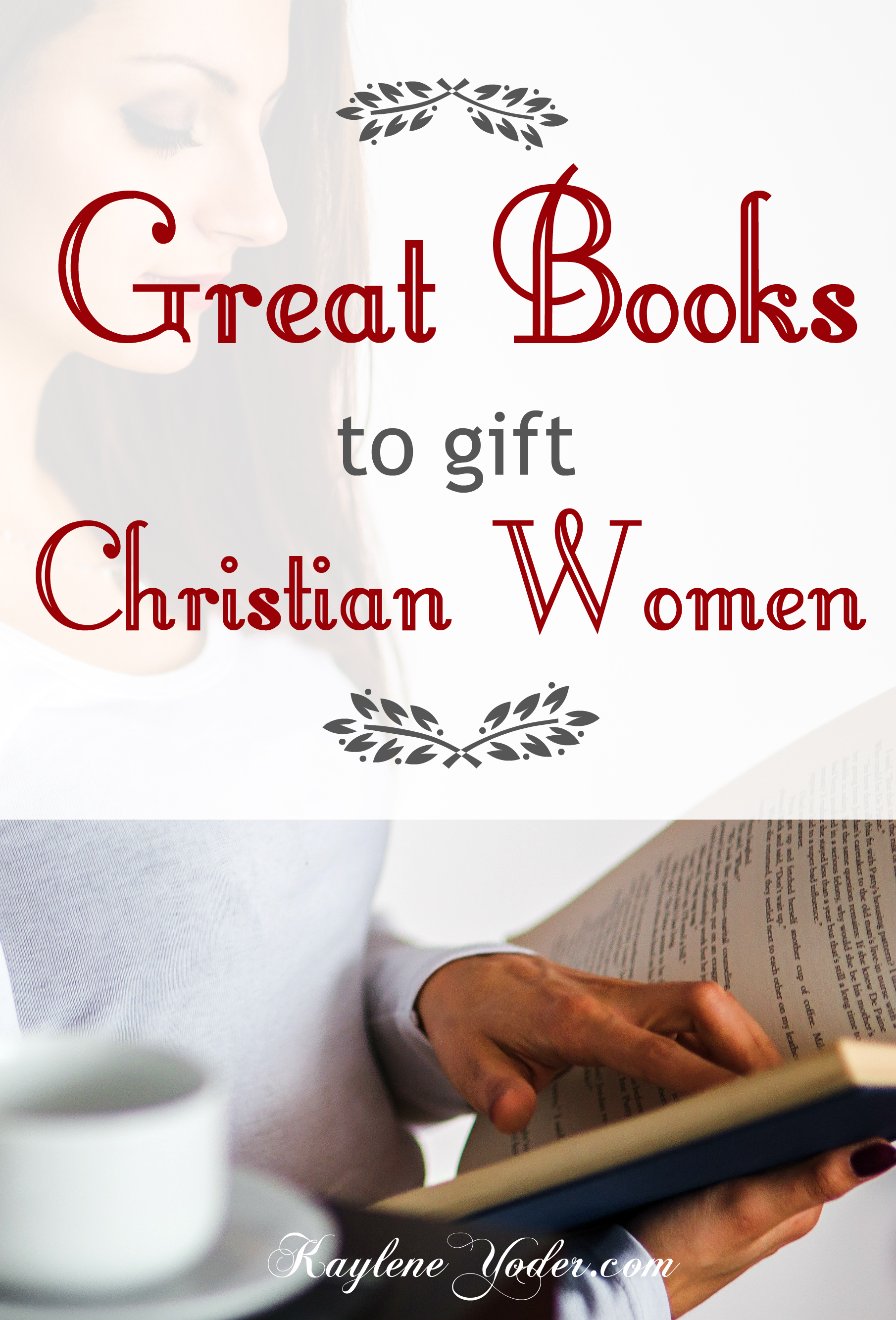 These are some great books to bless a Christian woman with!