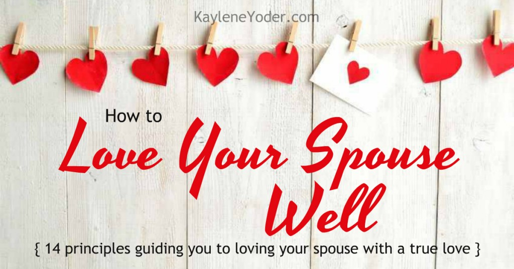 These 14 principles will help you learn how to love your spouse with a true love FB