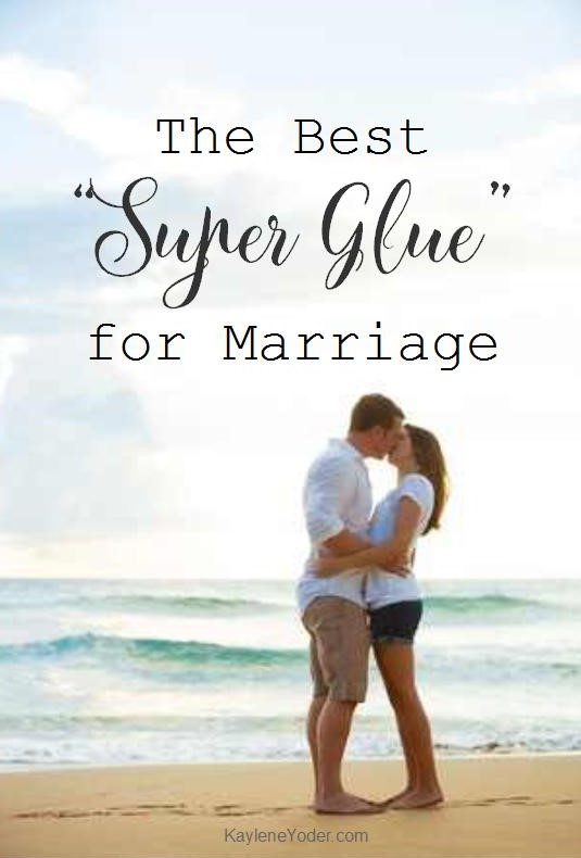 The Best Super Glue for Marriage