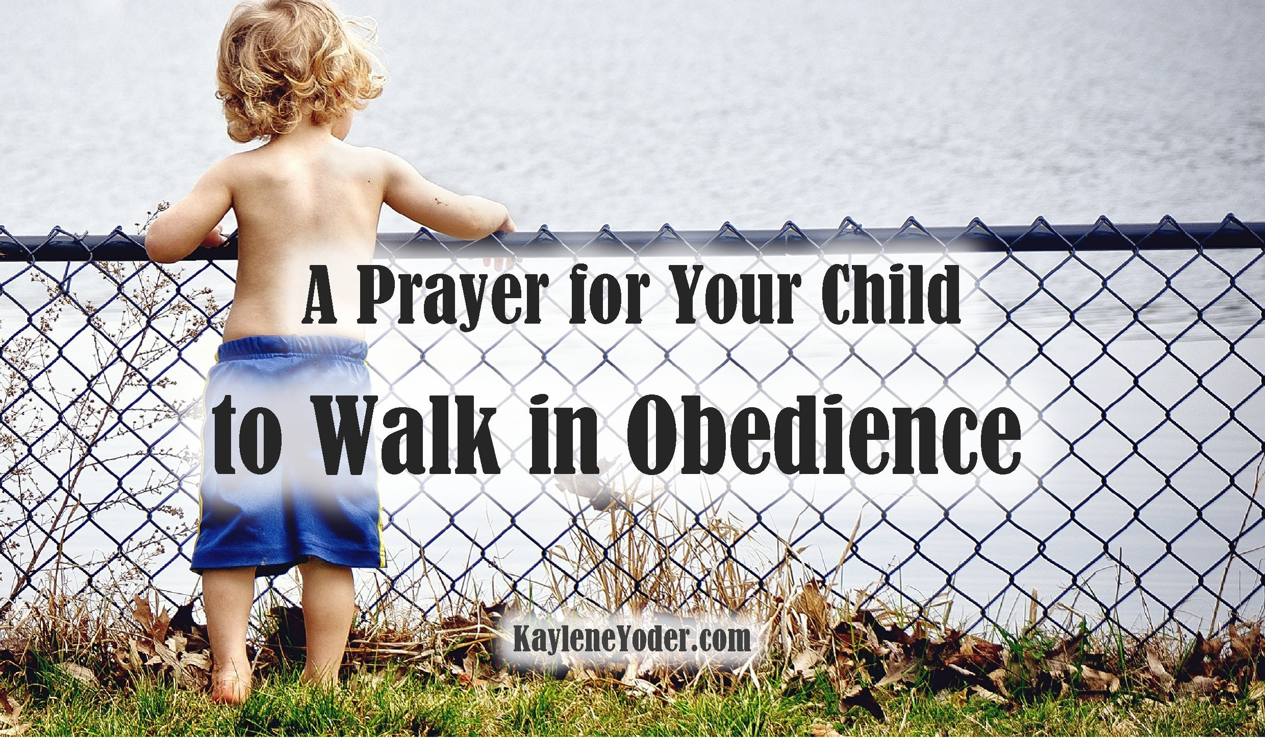 Why the child does not walk