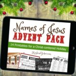 Names of Jesus Advent Calendar and Christmas Pack
