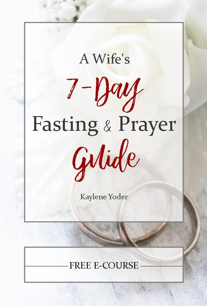 7-day fasting & prayer guide cover