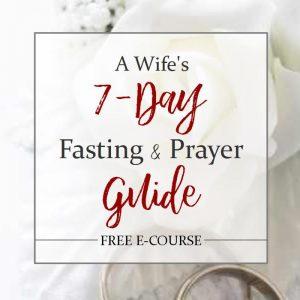 7-day fasting & prayer guide sidebar