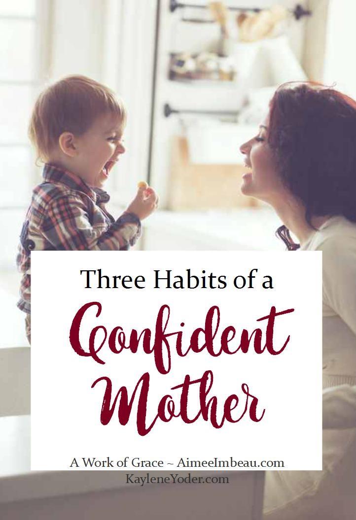 confident mother