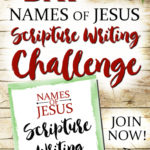 Names of Jesus Scripture Writing Challenge