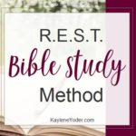 R.E.S.T. Bible Study Method
