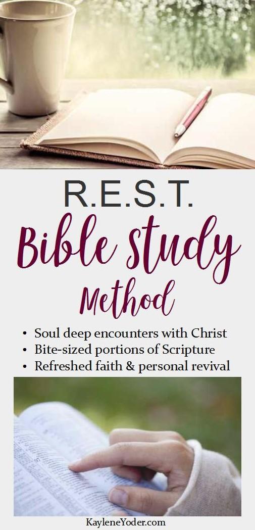 r-e-s-t-bible-study-method
