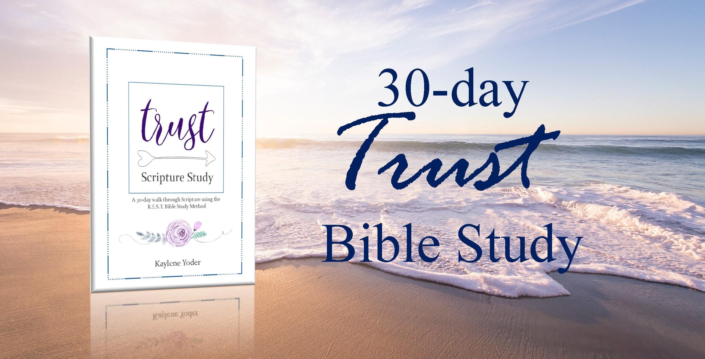 REST Bible Study Method - Kaylene Yoder