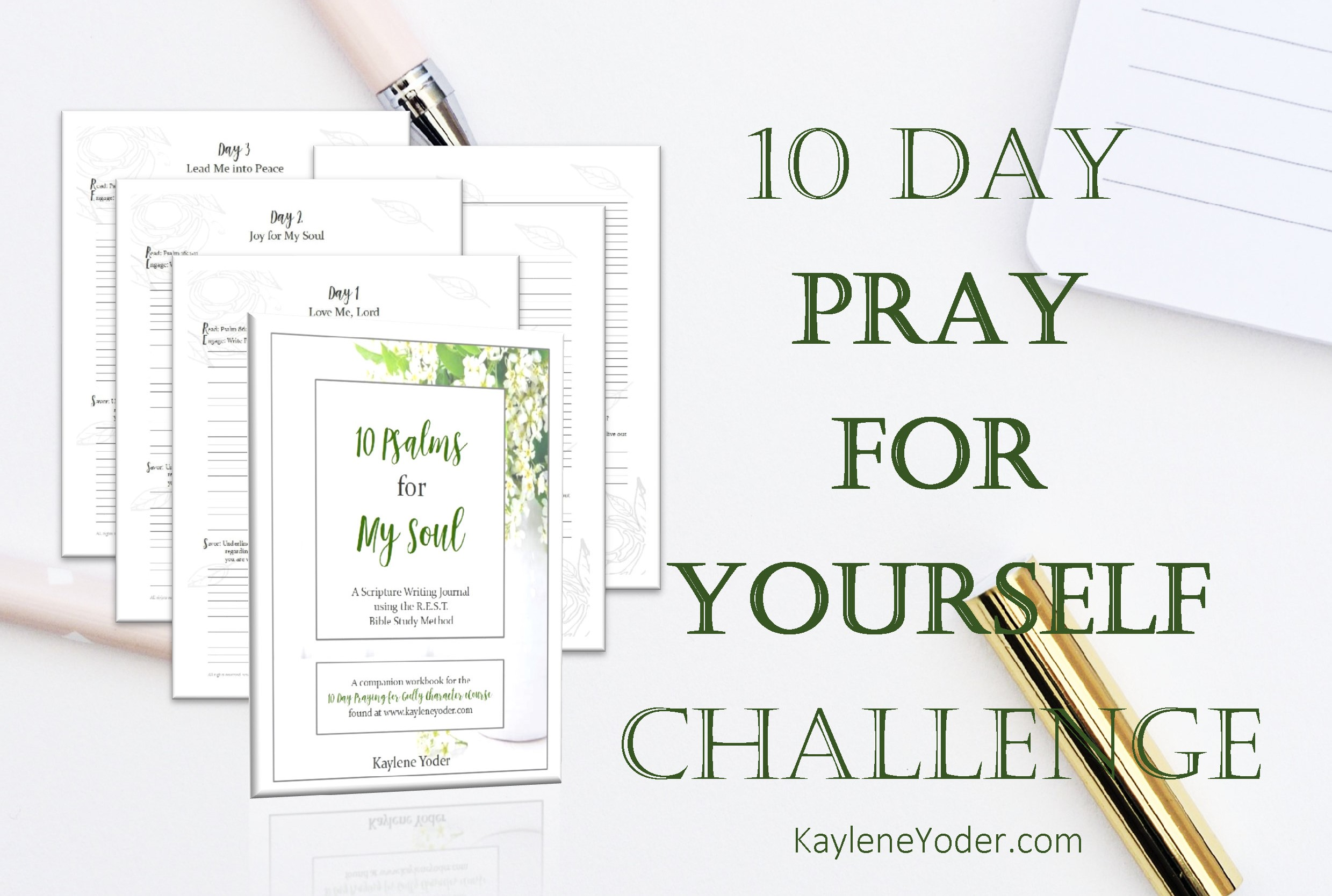 REST Bible Study Method - Kaylene Yoder