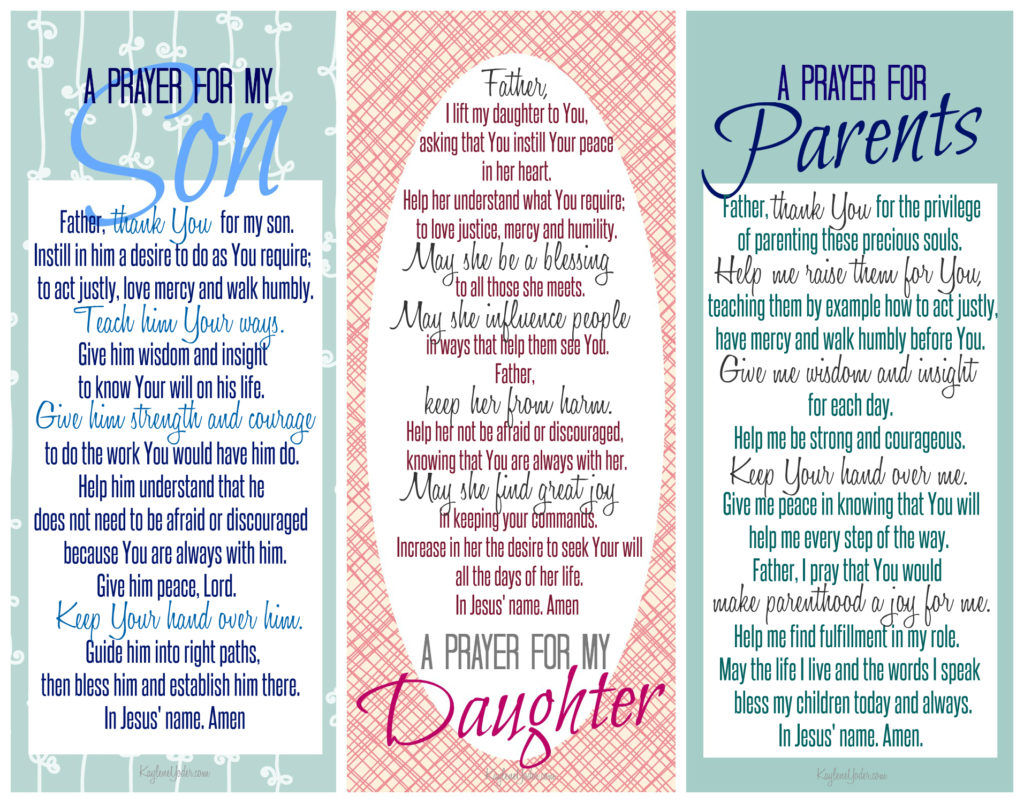image relating to Free Printable Prayer Journal Pdf identified as 5 Verses in the direction of Pray About Your Young children Moreover Cost-free Bookmark