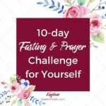 10-Day Pray for Yourself Challenge