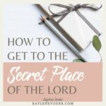 Where is the Secret Place of God?