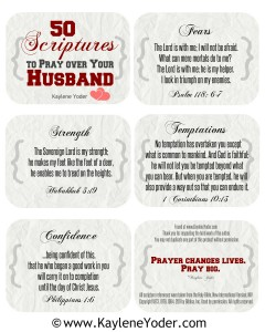 Scripture Prayer Cards for Husband final cover