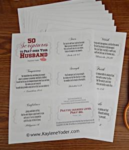 Scripture cards 1