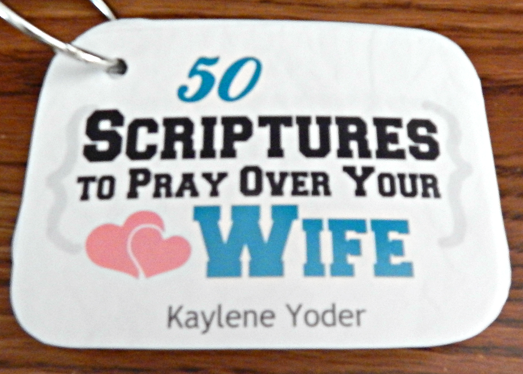 Scripture Prayer Cards For Husbands And Wives Kaylene Yoder